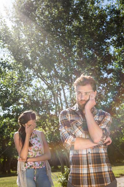 Argumento homem natureza verão feminino Foto stock © wavebreak_media