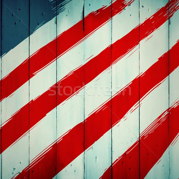 összetett kép nap grafikus fából készült deszkák Stock fotó © wavebreak_media