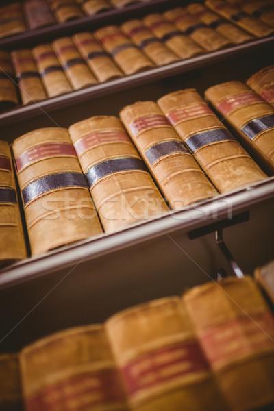 シェルフ 古い 図書 ライブラリ 図書 ストックフォト © wavebreak_media