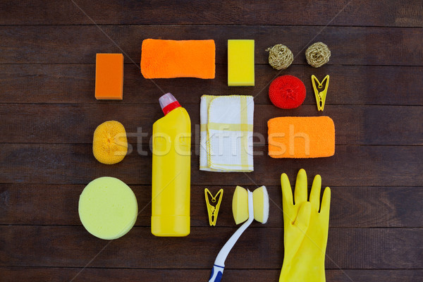 Set of cleaning equipment Stock photo © wavebreak_media