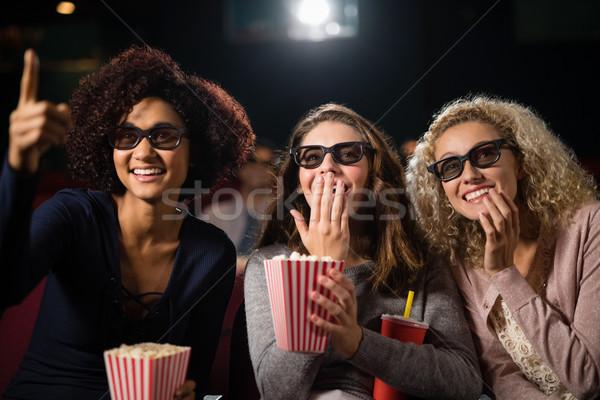 Group of people watching movie in theatre Stock photo © wavebreak_media