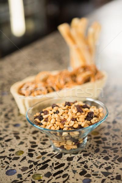 Snacks counter pub bar Stockfoto © wavebreak_media