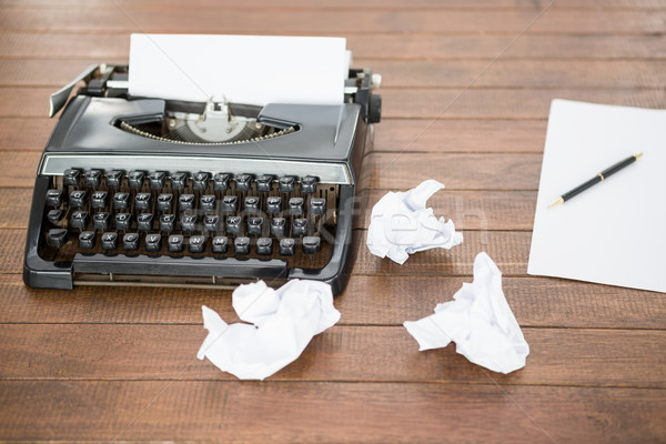 Picture of a type writer Stock photo © wavebreak_media