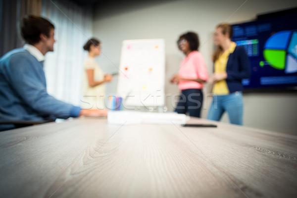 女性 フローチャート ホワイトボード オフィス ストックフォト © wavebreak_media