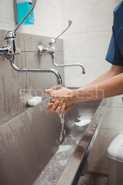 Female surgeon washing her hands Stock photo © wavebreak_media