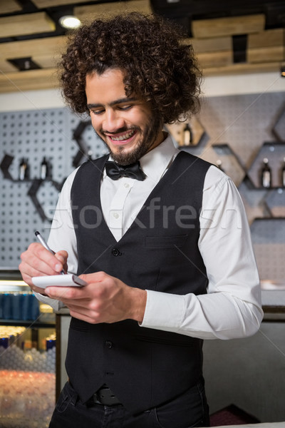 Bartender taking an order Stock photo © wavebreak_media