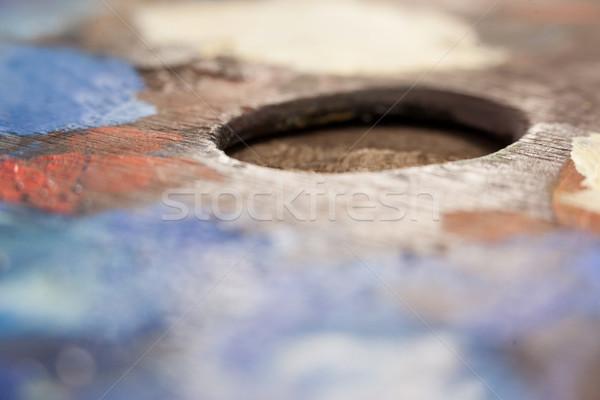 パレット 複数 色 教育 表 ライフスタイル ストックフォト © wavebreak_media