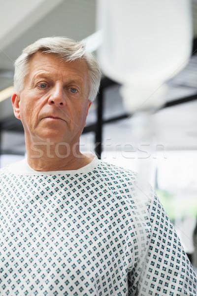 Szomorú beteg kórház egészség ajtó gyógyszer Stock fotó © wavebreak_media