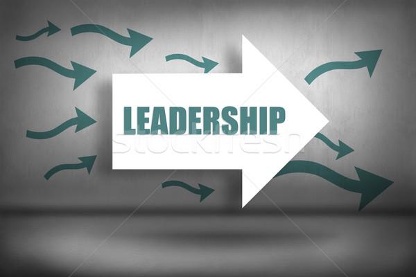 リーダーシップ ポインティング 言葉 デジタル ストックフォト © wavebreak_media