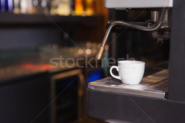 Cup caffè espresso coffee shop ristorante bere Foto d'archivio © wavebreak_media