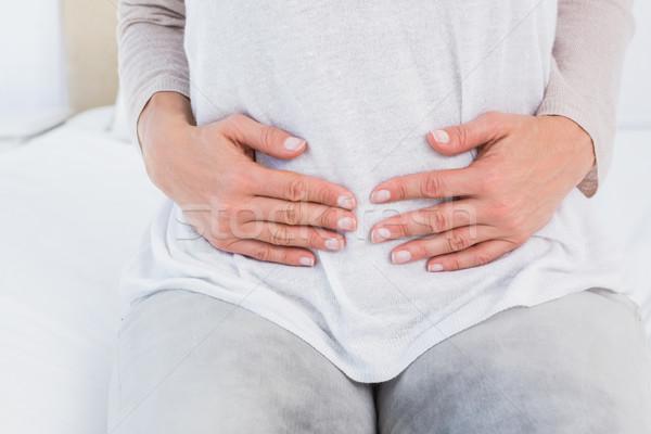 Mujer estómago dolor cuerpo Foto stock © wavebreak_media