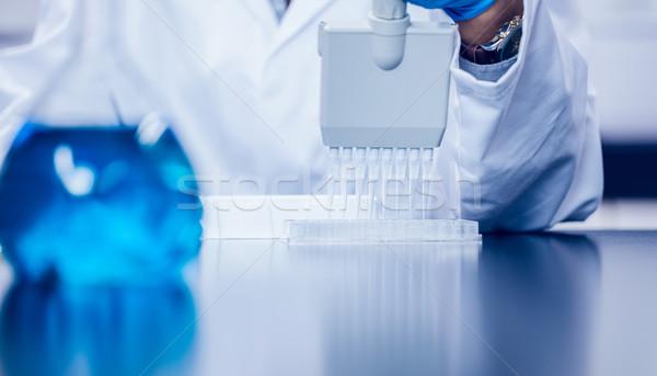 Stock fotó: Tudomány · diák · elektronikus · nő · iskola · orvosi