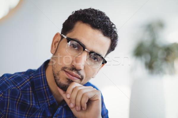 Portrait souriant exécutif bureau Photo stock © wavebreak_media