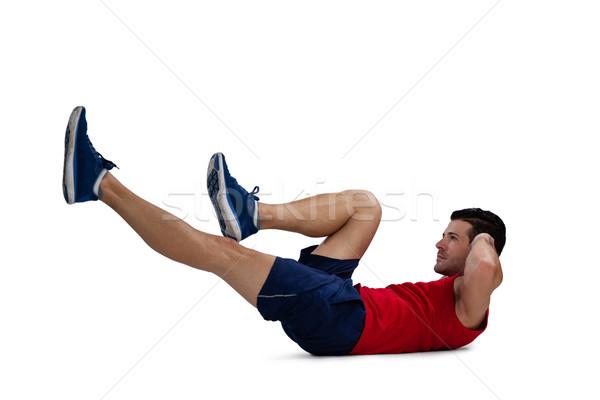 Vista laterale sport giocatore sport Foto d'archivio © wavebreak_media