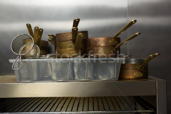Close-up of kitchen utensils Stock photo © wavebreak_media