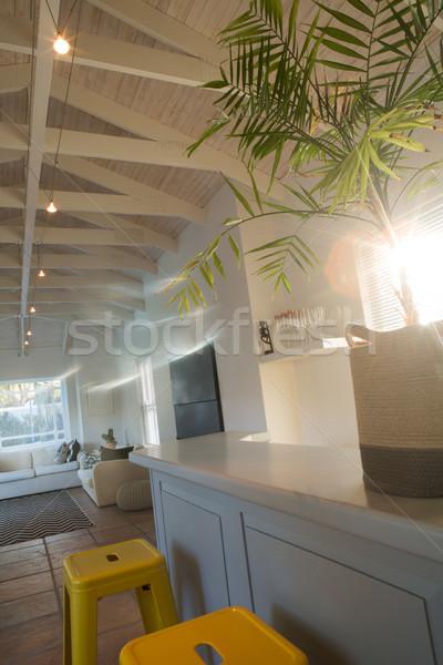 Luxury and modern living room Stock photo © wavebreak_media