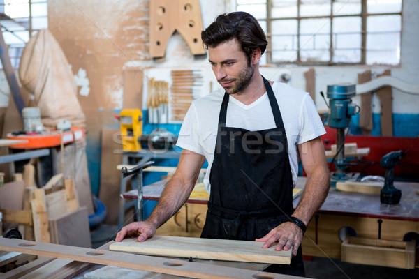 плотник рабочих пыльный семинар текстуры человека Сток-фото © wavebreak_media