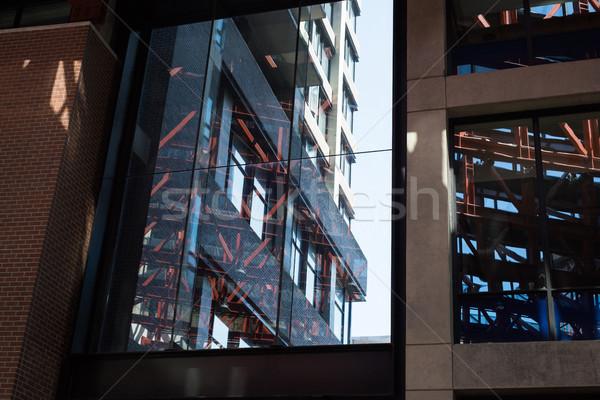 внешний современное здание вечер бизнеса здании счастливым Сток-фото © wavebreak_media