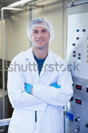 Portrait Homme chirurgien permanent opération théâtre Photo stock © wavebreak_media