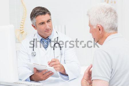 外科医 医師 その他 クリニック 男 幸せ ストックフォト © wavebreak_media