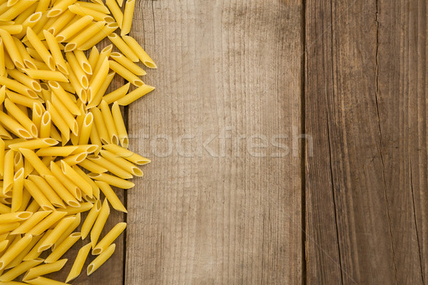 Houten oppervlak vakantie lunch lifestyle koud Stockfoto © wavebreak_media
