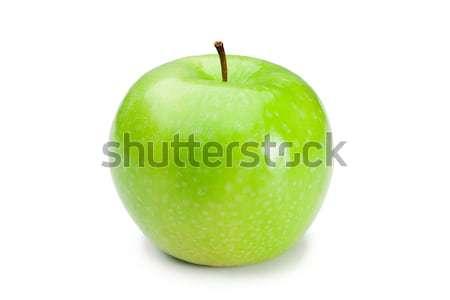 Green apple on a white background Stock photo © wavebreak_media