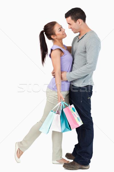 Alışveriş tur beyaz sevmek Stok fotoğraf © wavebreak_media
