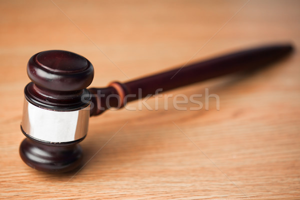 древесины молоток столе прав Сток-фото © wavebreak_media