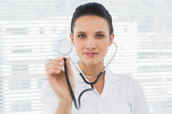 Portrait of a female doctor with stethoscope Stock photo © wavebreak_media