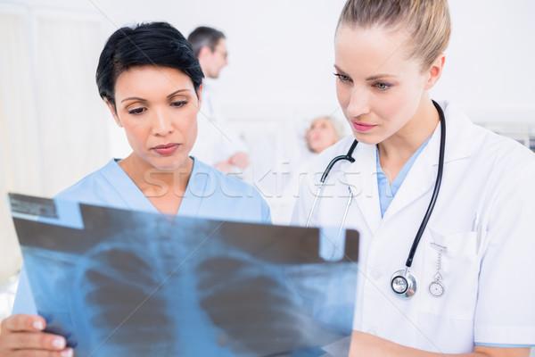 врачи Xray пациент врач хирург Сток-фото © wavebreak_media