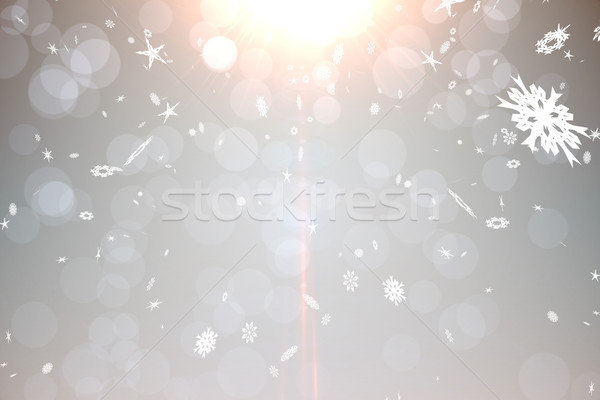 Gris diseno digitalmente generado cielo Foto stock © wavebreak_media