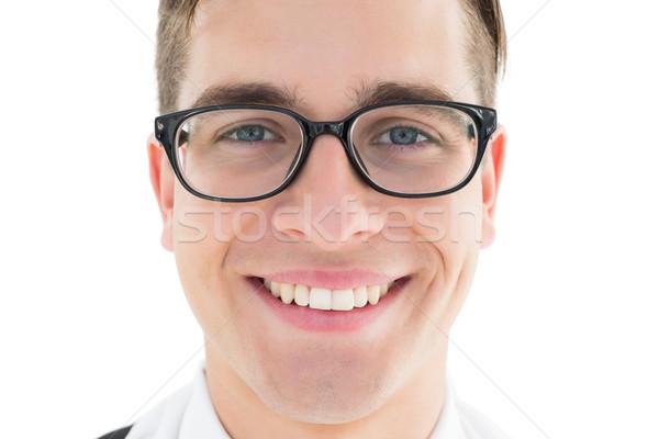 Nerdy hipster smiling at camera  Stock photo © wavebreak_media