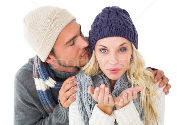 Attractive couple in winter fashion  Stock photo © wavebreak_media