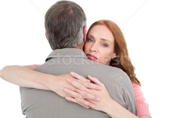 Casual couple hugging each other Stock photo © wavebreak_media
