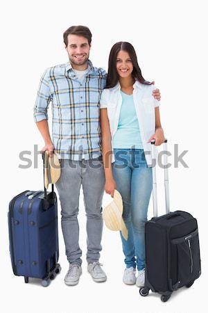 Turystycznych rodziny konsultacji Pokaż biały człowiek Zdjęcia stock © wavebreak_media