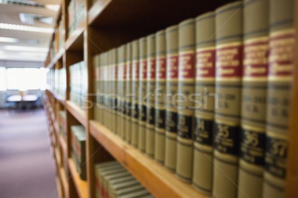 Libri scaffale biblioteca Università scuola istruzione Foto d'archivio © wavebreak_media