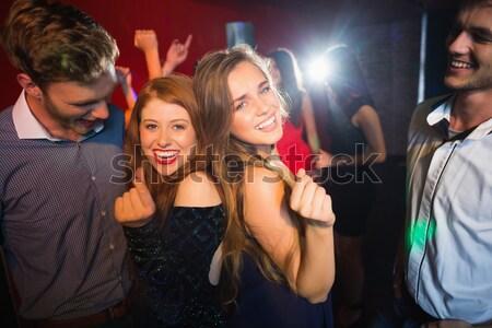Glücklich Freund Aufnahme Diskothek Musik-Festival Frau Stock foto © wavebreak_media