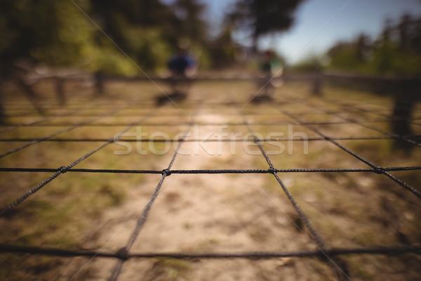 Close-up of net in boot camp Stock photo © wavebreak_media