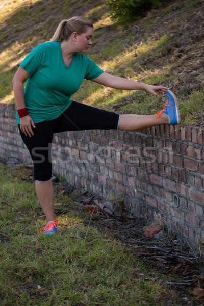женщину осуществлять подготовки Сток-фото © wavebreak_media