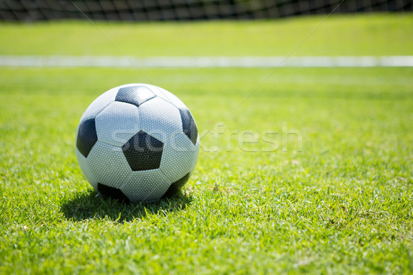 Close up of soccer ball Stock photo © wavebreak_media