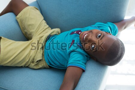 Abdômen massagem menina paciente clínica mulher Foto stock © wavebreak_media