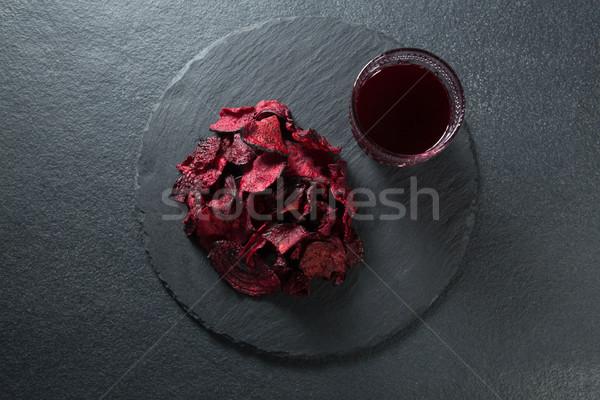 мнение свекла сока пластина таблице пить Сток-фото © wavebreak_media