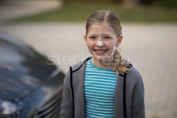 Teenage girl having fun Stock photo © wavebreak_media