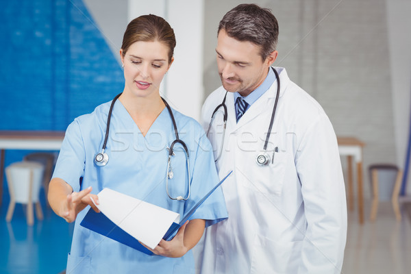 врачи буфер обмена больницу человека Сток-фото © wavebreak_media