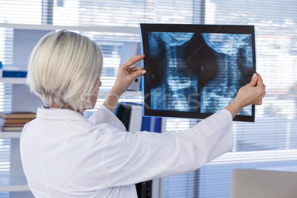 женщины врач Xray докладе клинике Сток-фото © wavebreak_media