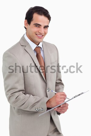Radiant female executive with folded arms  Stock photo © wavebreak_media