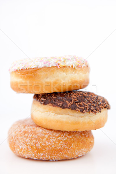 Trzy biały czekolady tle jedzenie Zdjęcia stock © wavebreak_media