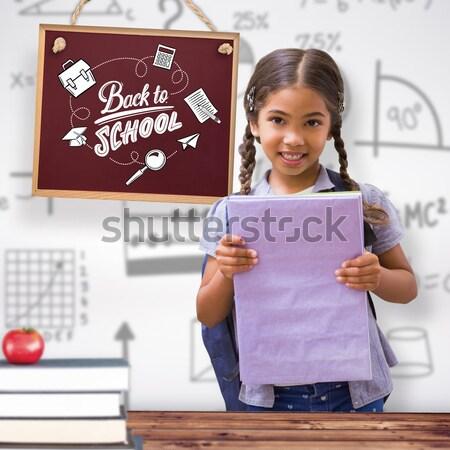 Portret uśmiechnięty kobiet artysty biurko komputera Zdjęcia stock © wavebreak_media