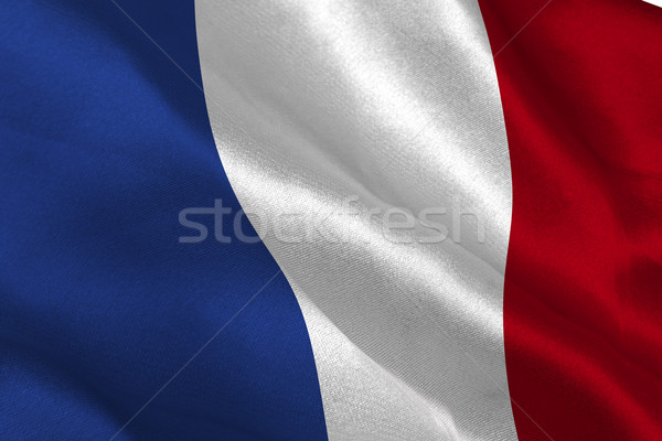 French flag Stock photo © wavebreak_media