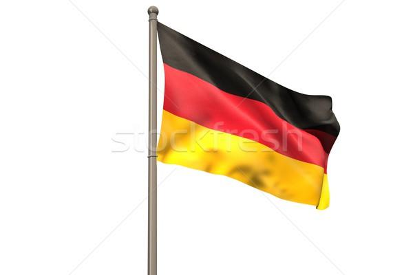 Digitally generated german national flag Stock photo © wavebreak_media